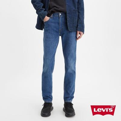 Levis 男款 上寬下窄 512低腰修身窄管牛仔褲 中藍基本款 恆溫調節機能 彈性布料