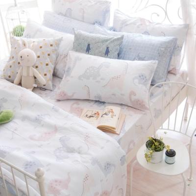 OLIVIA  小雷龍 特大雙人床包冬夏兩用被套四件組 230織天絲TM萊賽爾 台灣製