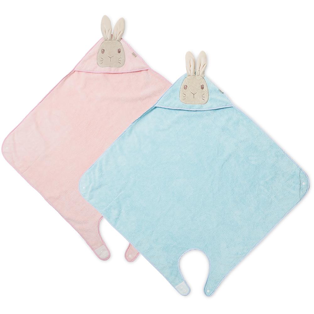 奇哥 比得兔吸濕快乾沐浴包巾(2色選擇)
