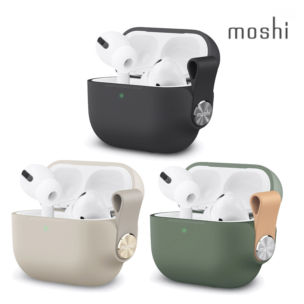 Moshi Pebbo for AirPods Pro 藍牙耳機充電盒保護套