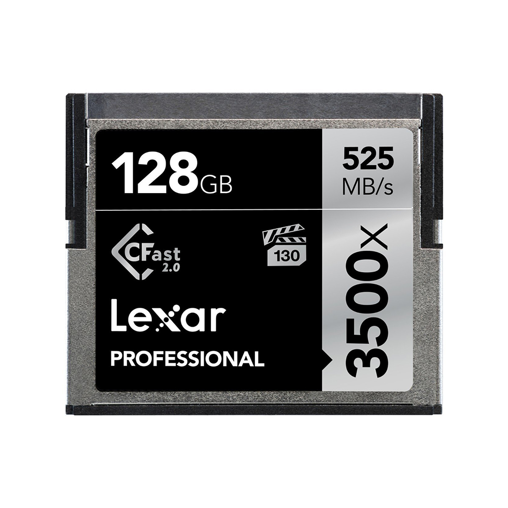 Lexar Professional 3500x CFast 2.0 128GB記憶卡