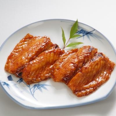 【宏益冷凍】日式蒲燒鯛魚腹排(3片X5包/組X15組)