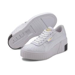 PUMA-Cali Wedge Wn's 女性復古休閒鞋-白