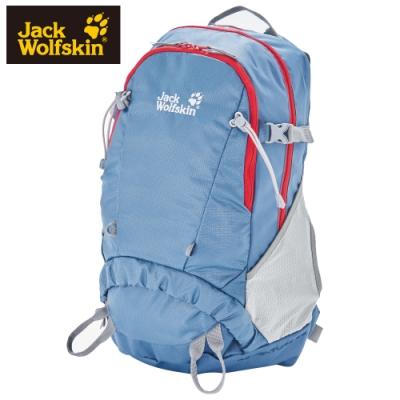 【Jack Wolfskin 飛狼】 Adventure 25L 登山背包『藍色 / 紅色』