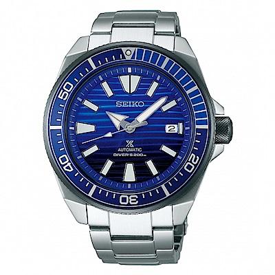 SEIKO PROSPEX 愛海洋機械潛水時尚腕錶/4R35-01X0B/SRPC93J1