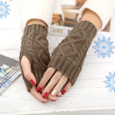 COMET 保暖針織半指手套(GK-01)