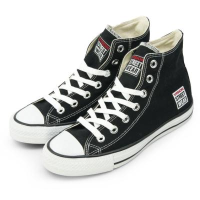 VISION STREET WEAR 經典帆布鞋 黑 V22001