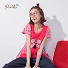 【Dailo】俏皮無尾熊短袖-上衣(二色)