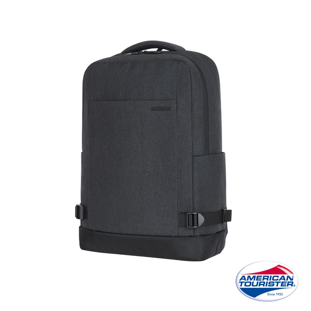 AT美國旅行者 Milton極簡實用筆電後背包14(灰)