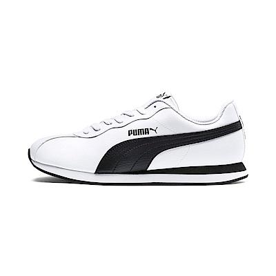 PUMA-Puma Turin II 男女復古足球運動鞋-白色