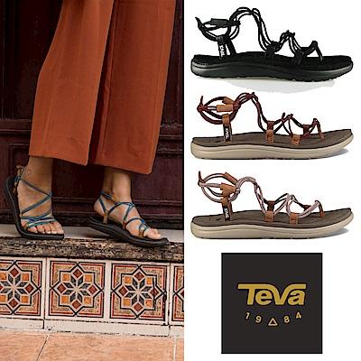 TEVA 女 Voya Infinity 羅馬織帶涼鞋 (三色任選)