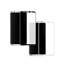 【MK馬克】Samsung S8+ 全滿版9H鋼化玻璃貼保護膜-黑色