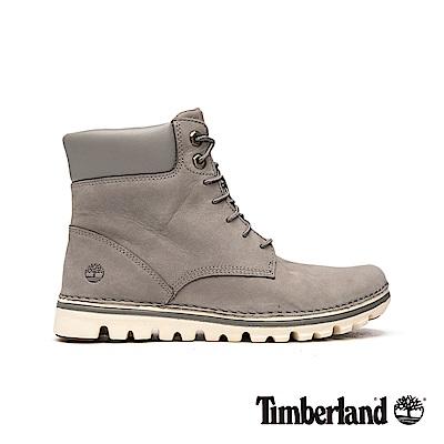 Timberland 女款灰色舒適輕便6吋靴|A1K6J