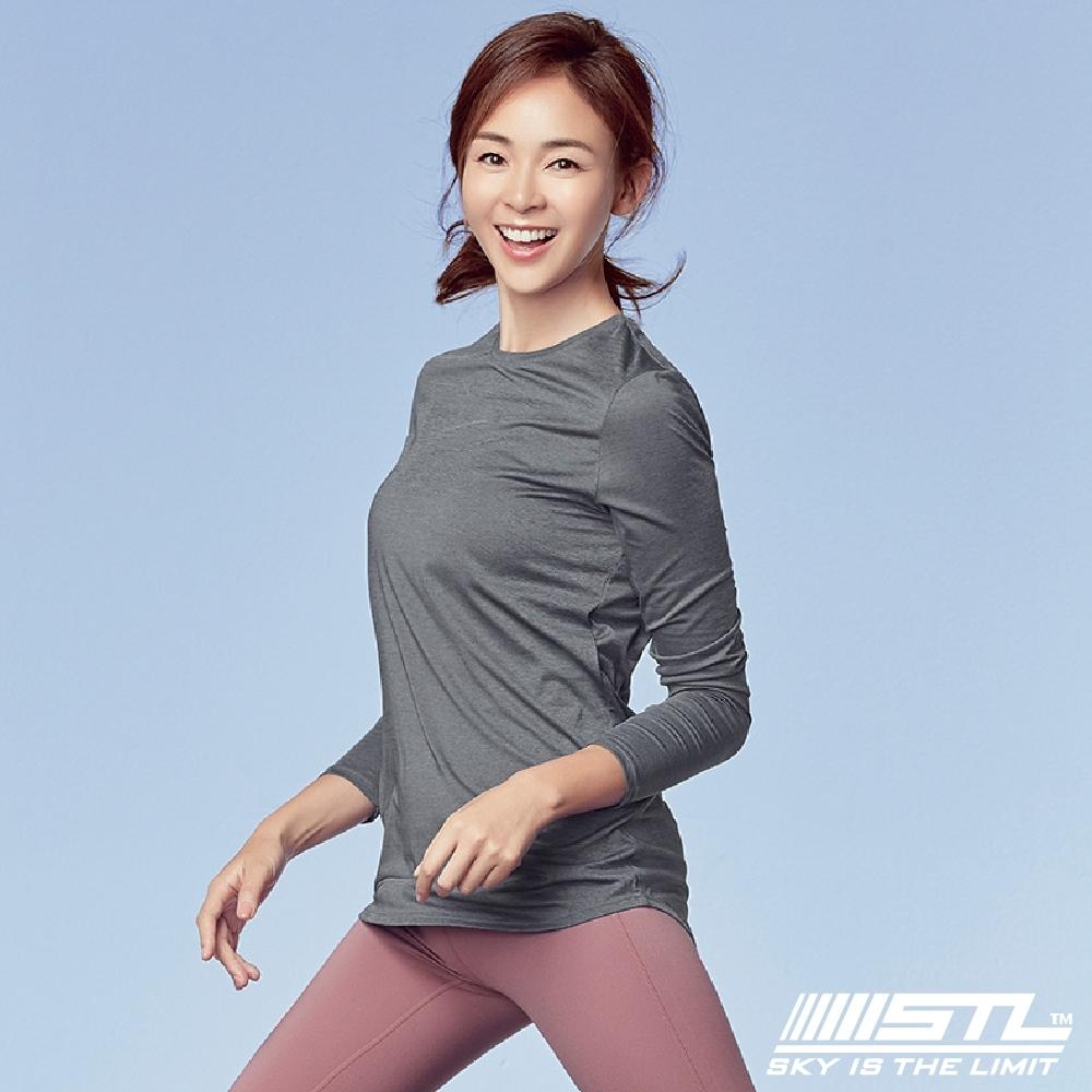 STL Essence Long Sleeve 韓國運動機能長袖上衣 本質灰