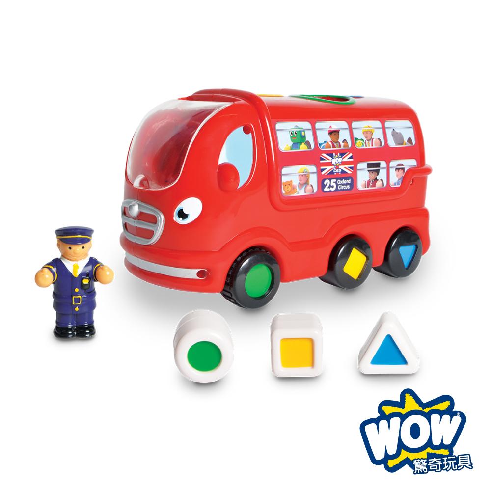 【WOW Toys 驚奇玩具】倫敦巴士 利奧