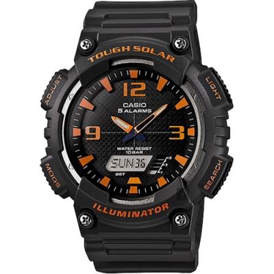 CASIO 卡西歐 太陽能電力手錶 AQ-S810W-8A