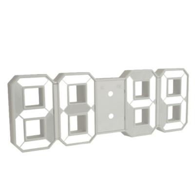 KINYO 立體多功能LED數字電子鐘/時鐘(TD-395)可拆式立架