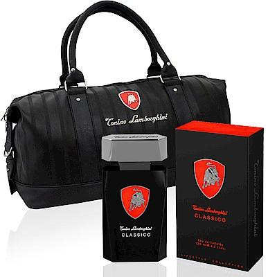Lamborghini Classico經典能量男性淡香水125ml-贈同品牌旅行袋
