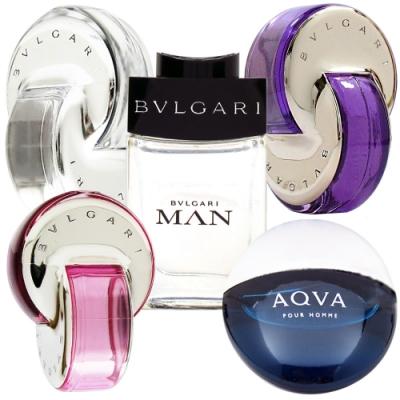 時尚香氛 BVLGARI 寶格麗 淡香水5ML 任選