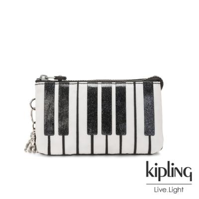 Kipling 閃亮琴鍵黑三夾層配件包-CREATIVITY L