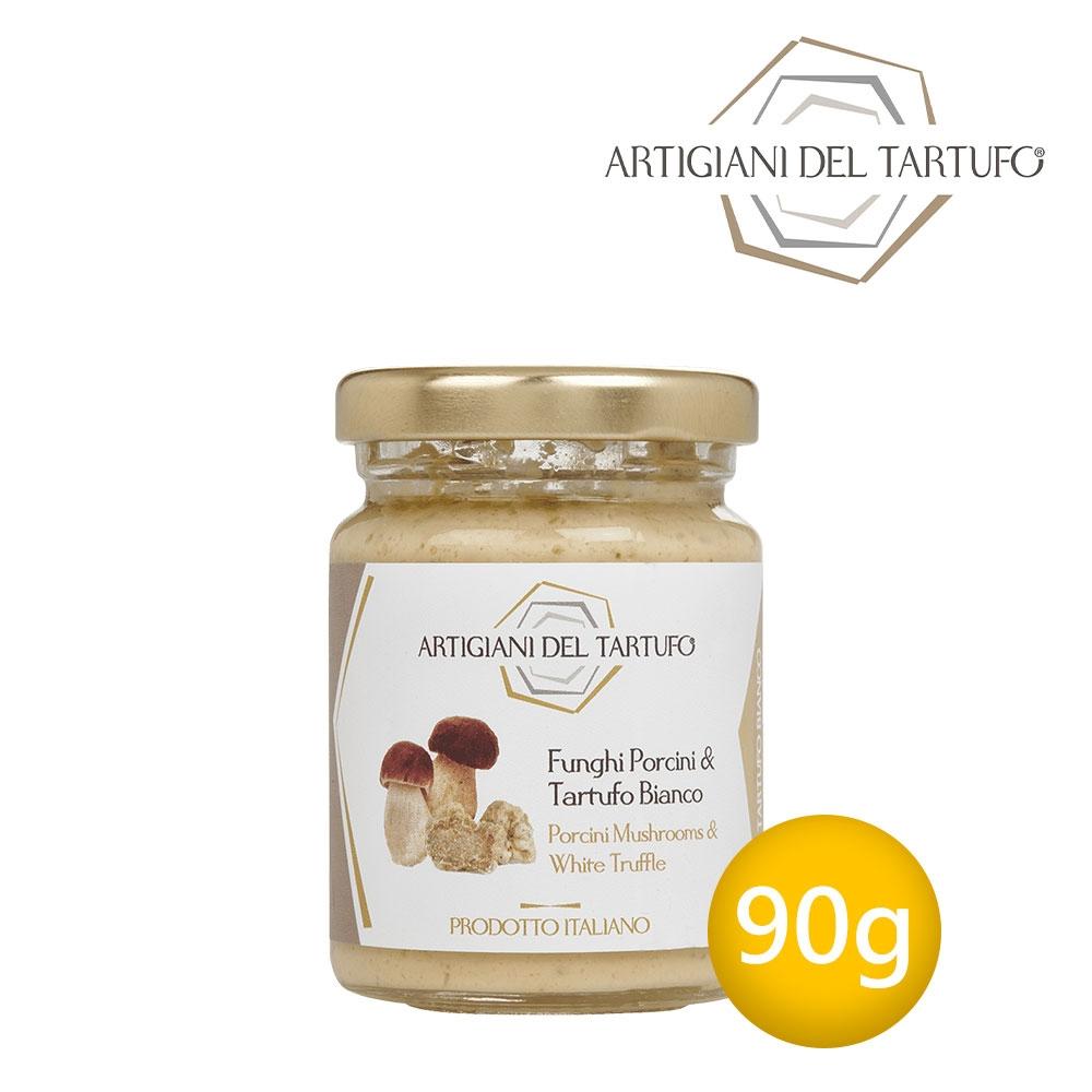 (任選)Artigiani del Tartufo義大利職人-白松露牛肝菌菇醬90g