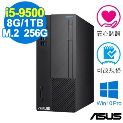 ASUS D641MD 商用電腦 i5-9500/8GB/760P 256G+1TB/W10P