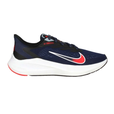 NIKE ZOOM WINFLO 7 男慢跑鞋-路跑 運動 輕量 CJ0291400 丈青紅