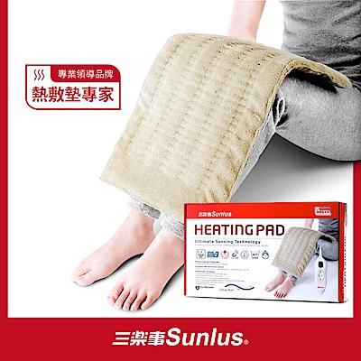 【Sunlus三樂事】LCD暖暖熱敷柔毛墊(大)MHP814(醫療級)