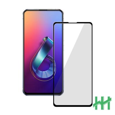 【HH】鋼化玻璃保護貼系列 ASUS ZenFone 6 (ZS630KL)(全滿版黑)