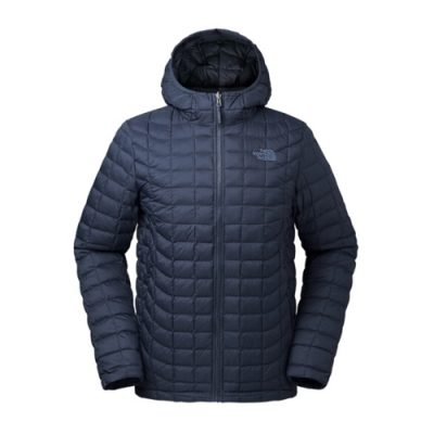 The North Face 男 ThermoBall連帽外套 藏青-NF0A3666XYN