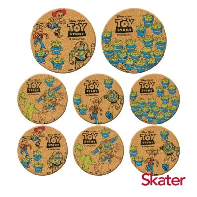 Skater杯墊2組-玩具總動員