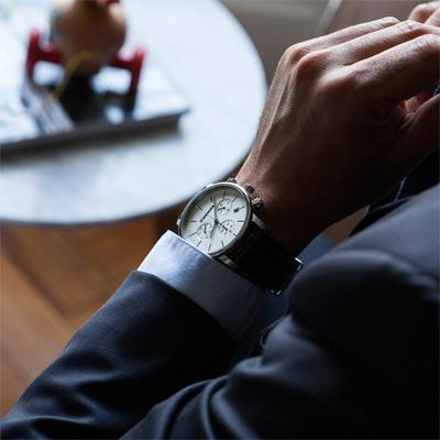 WENGER Urban 移動迷宮計時腕錶(01.1743.101)白/44mm