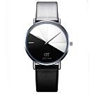 Watch-123 來自未來-優雅簡約科技風撞色手錶(2色任選)