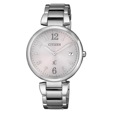 CITIZEN xC光動能閃耀時刻腕錶-銀(EO1190-54W)33mm