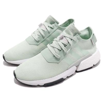 adidas 休閒鞋 POD S3 1 低筒 運動 男鞋 愛迪達 廣告款 穿搭 舒適 球鞋 綠 灰 B37368
