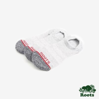Roots配件  透氣機能短襪 (女)-灰