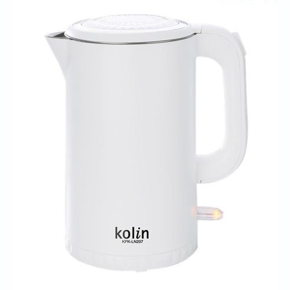 Kolin歌林316不鏽鋼雙層防燙快煮壺 (KPK-LN207)