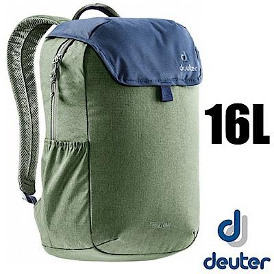 德國 Deuter Vista Chap 都會時尚休閒旅遊背包16L_綠