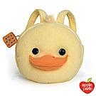 美國 Apple Park 有機棉玩偶造型背包 - 餅乾小鴨