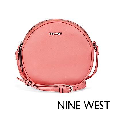 NINE WEST WHIMSY馬卡龍圓型斜背包-蜜桃粉(524169)