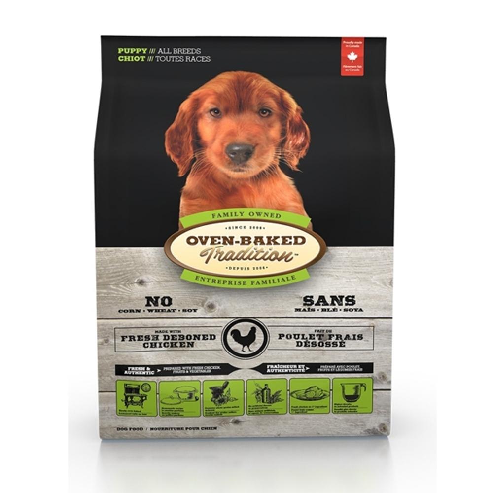 加拿大OVEN-BAKED烘焙客-幼犬野放雞-原顆粒 5.67kg(12.5lb)