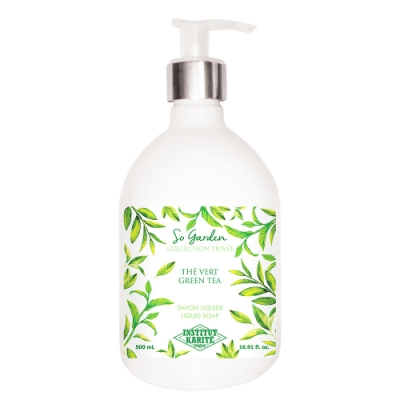 Institut Karite Paris 巴黎乳油木 綠茶花園香氛液體皂500ml