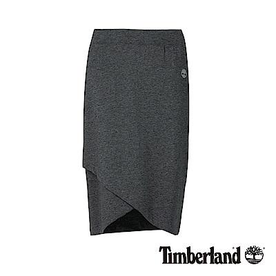 Timberland 女款深色木炭石南花編織款裹裙|B3306