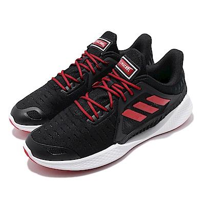 adidas 慢跑鞋 ClimaCool Vent 運動 男鞋 愛迪達 三線 路跑 涼感 透氣 穿搭 黑 紅 EG1117