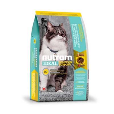 Nutram紐頓 I17室內化全齡毛貓(雞肉+燕麥)1KG