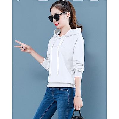 IMStyle 韓版寬鬆連帽上衣(5色)