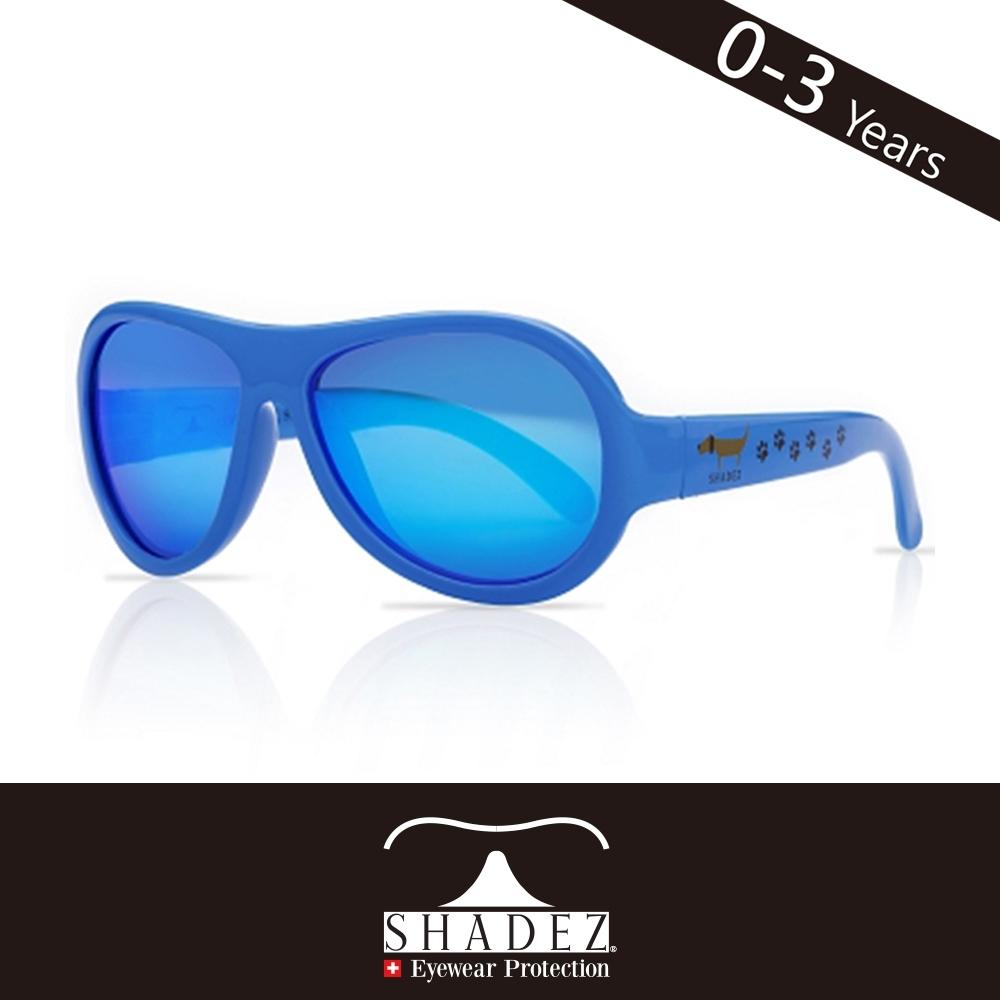 瑞士SHADEZ 兒童太陽眼鏡SHZ-40(年齡0-3)--藍色臘腸
