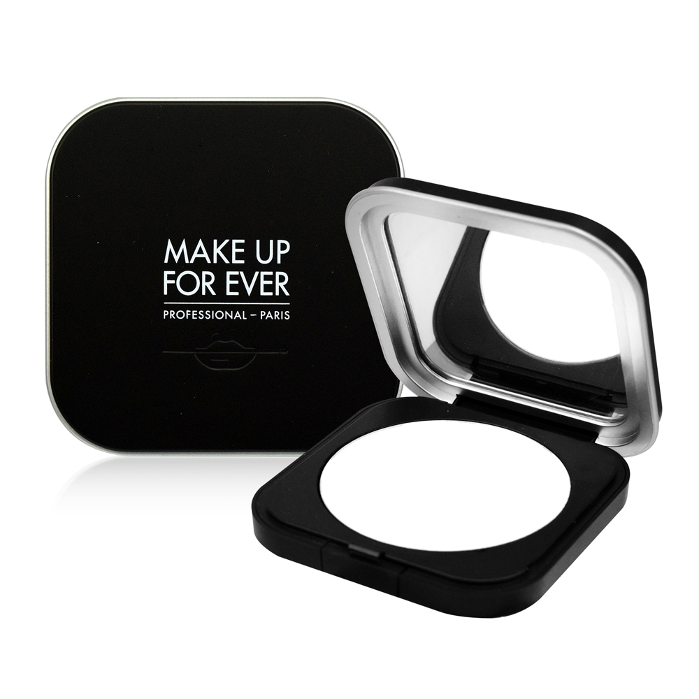 MAKE UP FOR EVER ULTRA HD超進化無瑕微晶蜜粉餅#01晶透白6.2g product image 1
