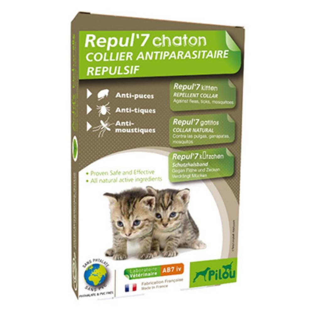 法國皮樂 Pilou 幼貓用 天然除蚤驅蝨防蚊項圈