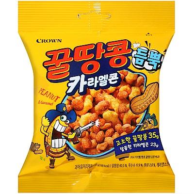 CROWN 蜂蜜花生玉米脆果(58g)